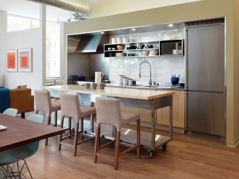 Movable Kitchen Islands With Stools Small Kitchen Island Ideas For Every Space And Budget