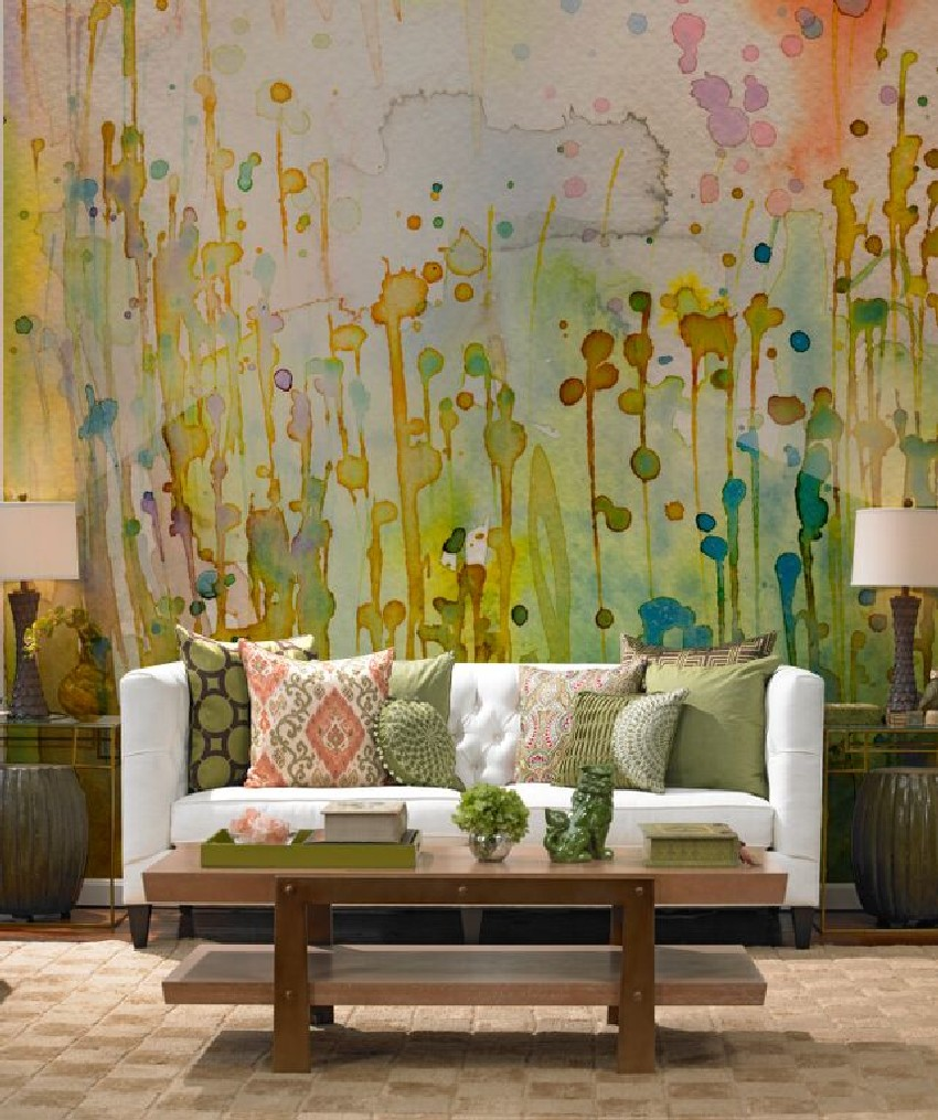 Wallpaper Murals For Bathrooms Autumn Themed Wall Murals