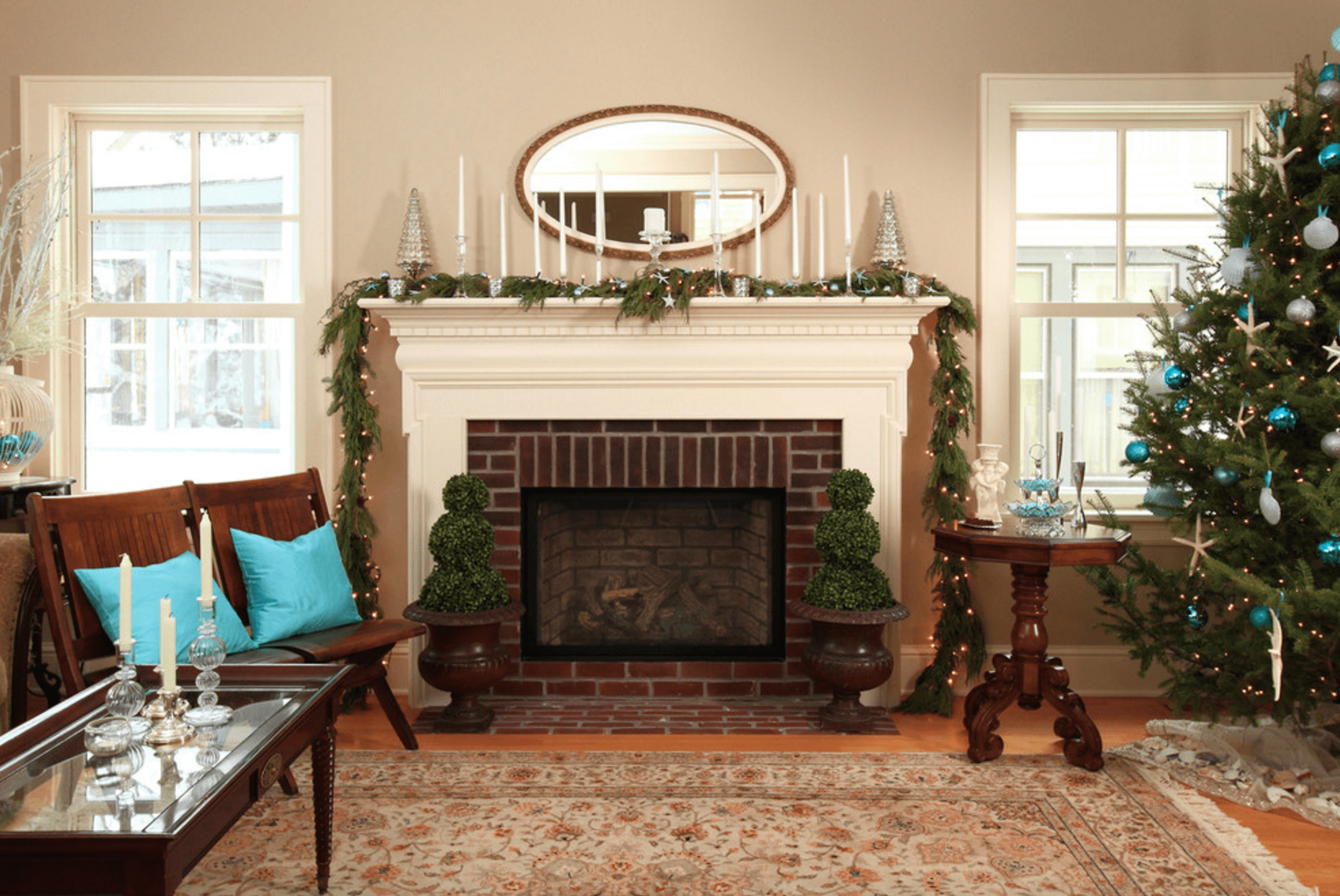 How To Decorate A Brick Fireplace Mantel Decorating Ideas Freshome