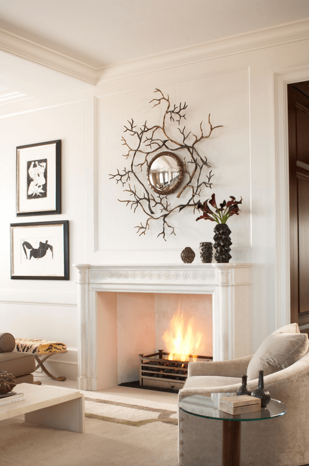 Decorations For Fireplaces Mantel Decorating Ideas Freshome
