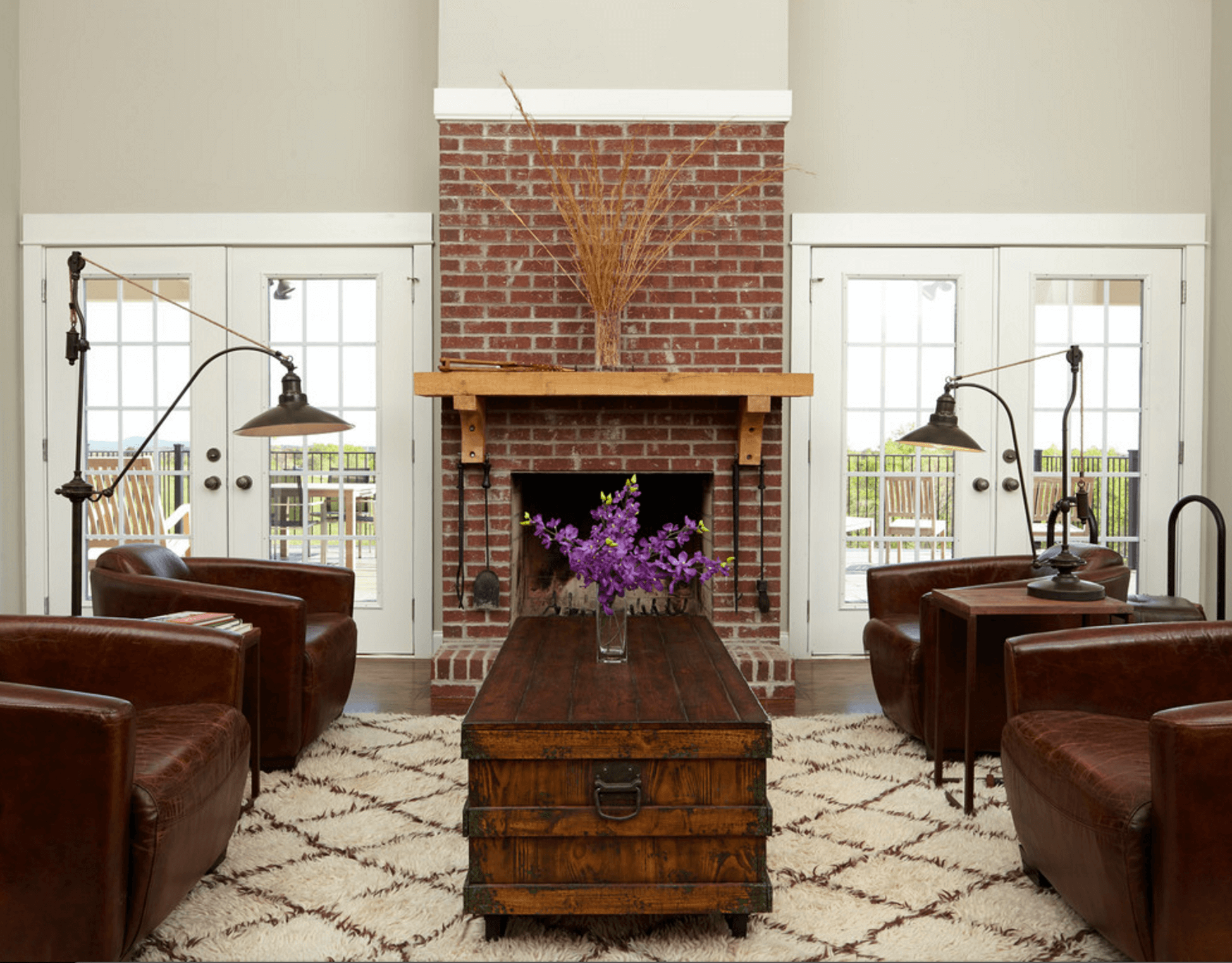 Brick Fireplace Wood Mantel Mantel Decorating Ideas Freshome