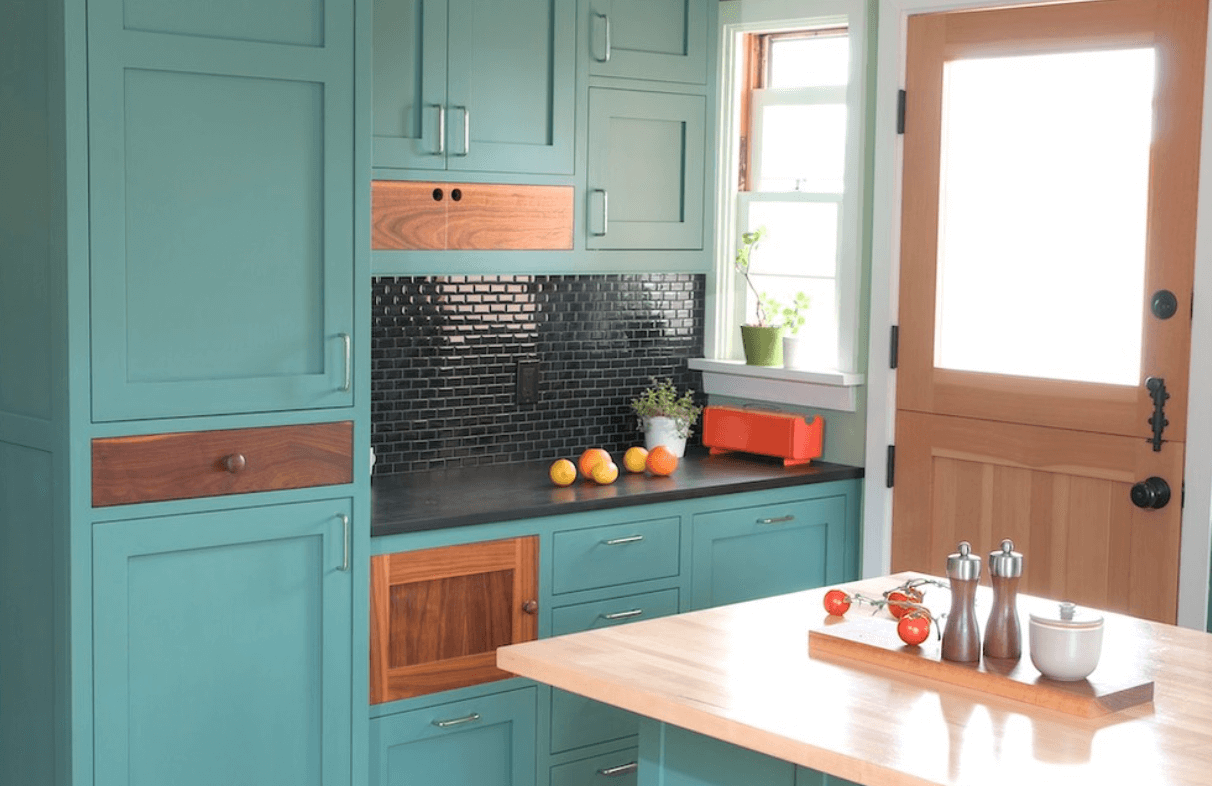 Painting Kitchen Cabinets Estimate Painted Kitchen Cabinet Ideas Freshome