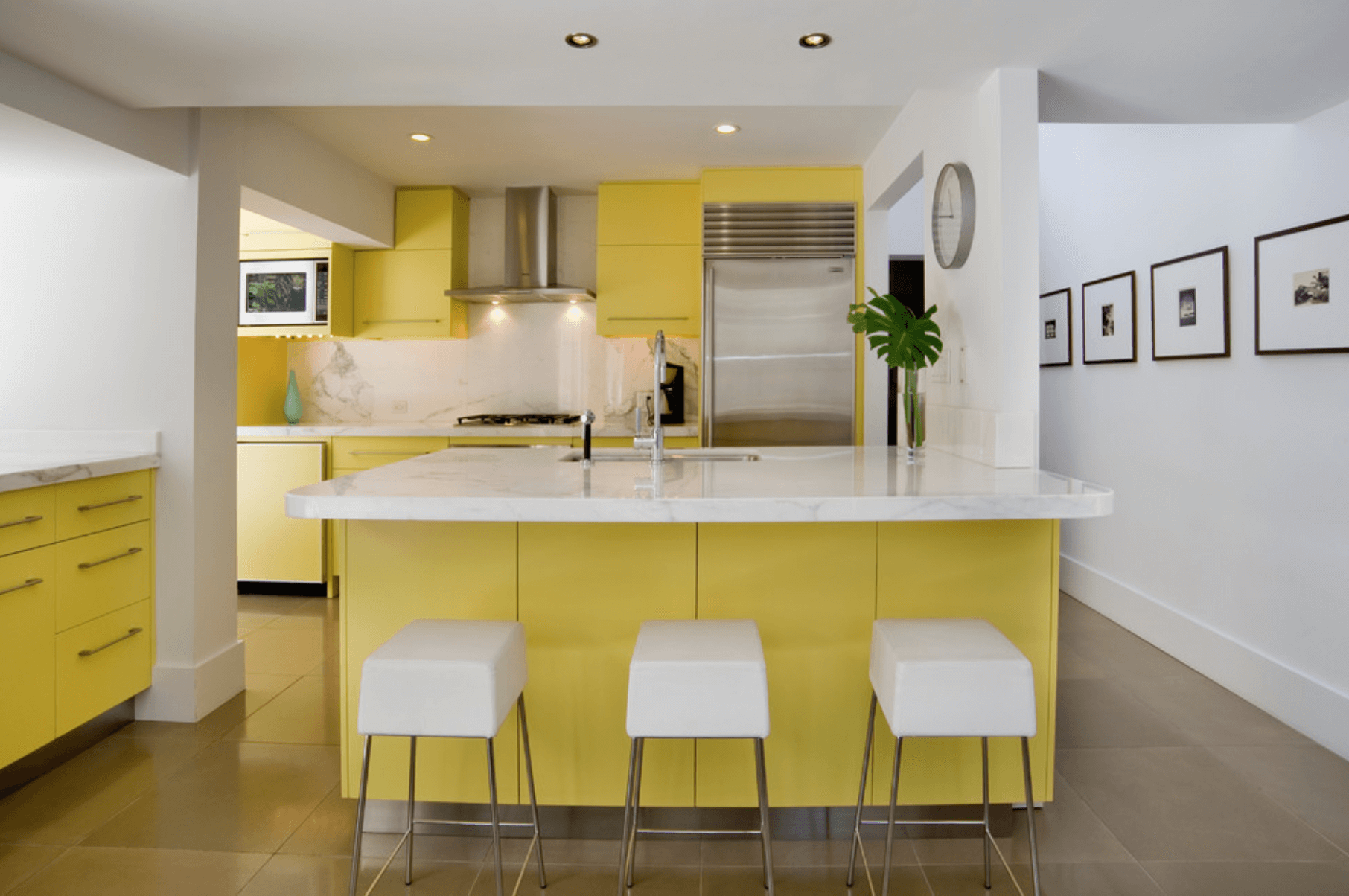 Yellow Kitchen Design Ideas Kitchen Color Ideas Freshome