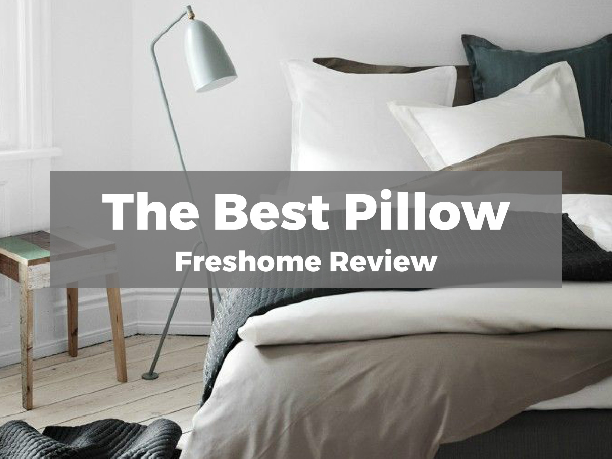 Best Pillow For Sleeping On Your Back Best Bed Pillow Freshome Review