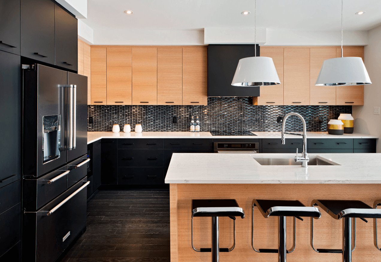 Black Design For Kitchen 31 Black Kitchen Ideas For The Bold Modern Home Freshome