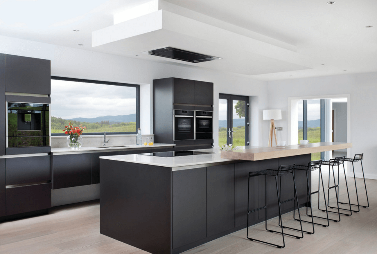 Modern Kitchen Design Dublin 31 Black Kitchen Ideas For The Bold Modern Home