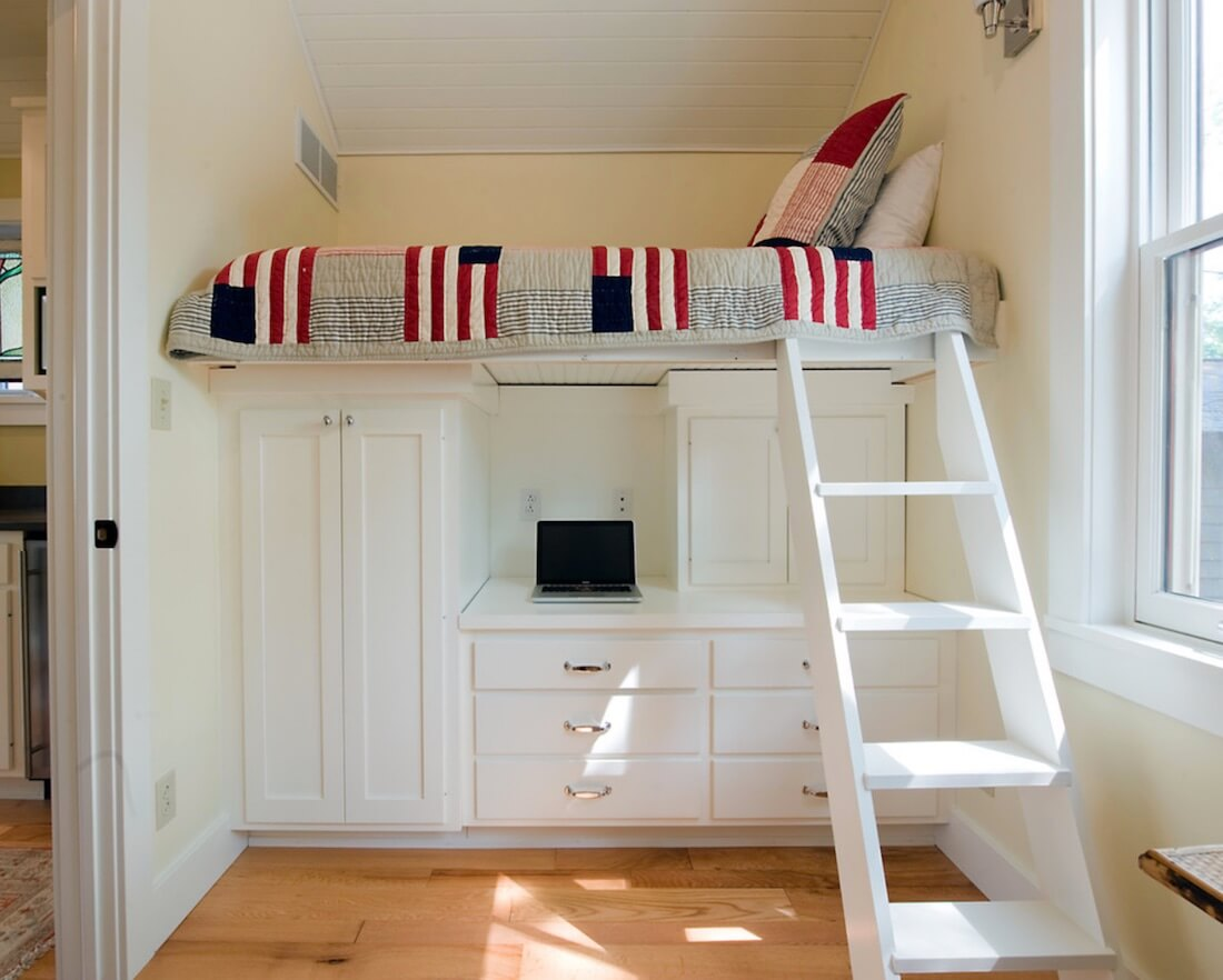 Built In Bed Nook 6 Small Space Beds To Make Your Room Bigger Freshome