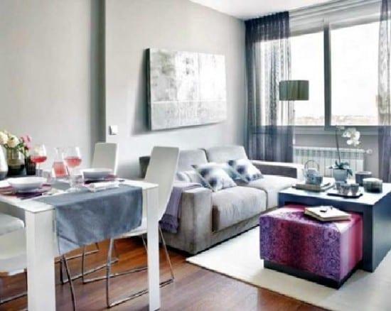 kleines wohnzimmer einrichtenin grau - fresHouse - kleines wohnzimmer
