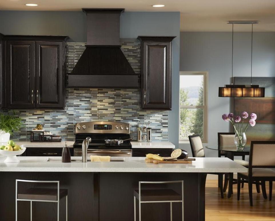 Küche Wandfarbe - 40 Ideen für Farbgestaltung der Küche - fresHouse - ideen kuche