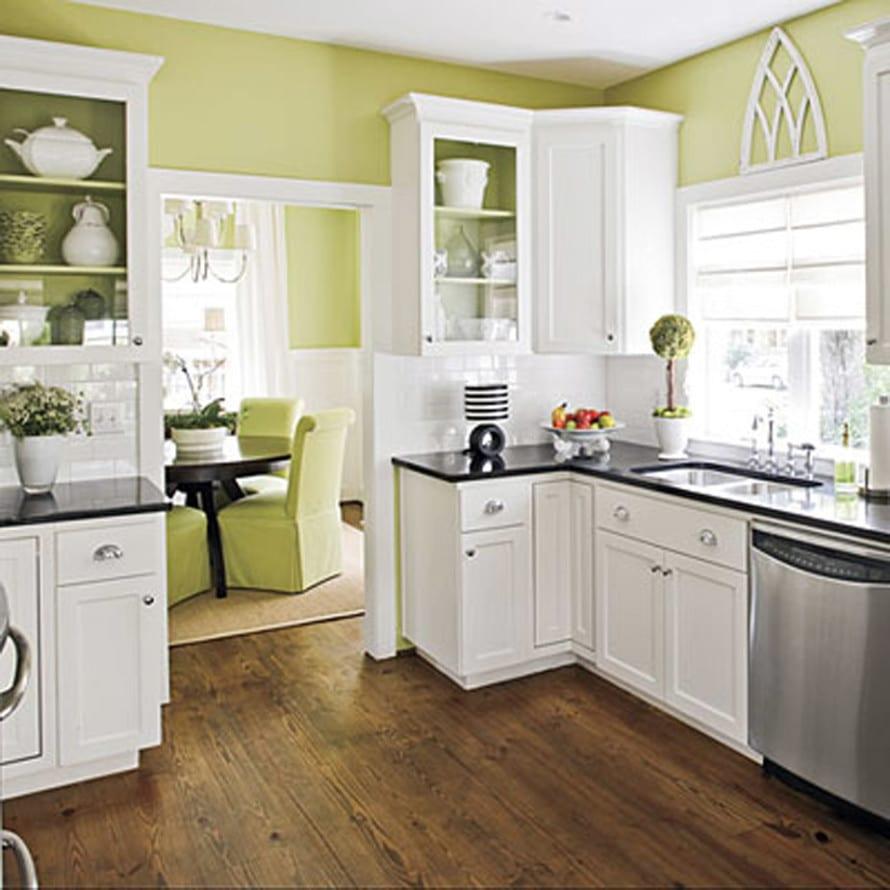 Küche Grau Weiß Streichen
