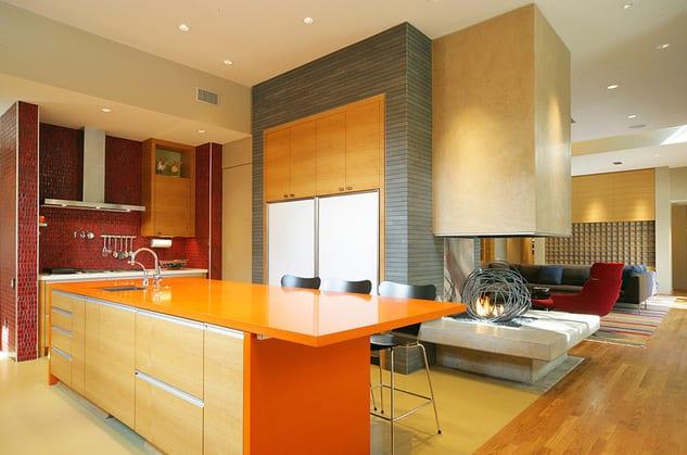 Kuche Wandfarbe 40 Ideen Fur Farbgestaltung Der Kuche
