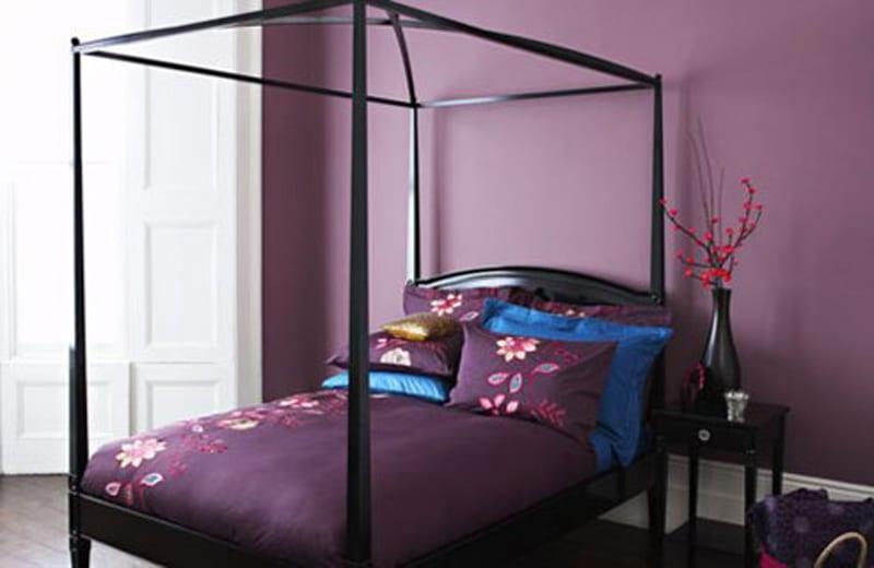 Schlafzimmer Wandfarbe - Ideen für grelle Schlafzimmer - schlafzimmer gestalten wandfarbe