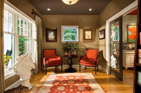 wandfarbe braun-wohnzimmer gestalten - fresHouse - wohnzimmer in braun gestalten