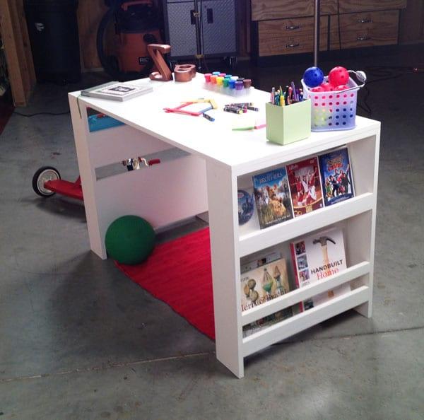 Schreibtisch selber bauen - 55 Ideen - fresHouse - ideale schreibtisch im kinderzimmer