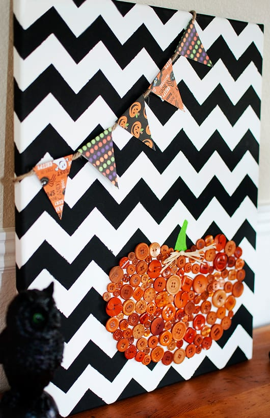 Halloween Deko Vorgarten Diy Halloween Leinwand Collage - Freshouse