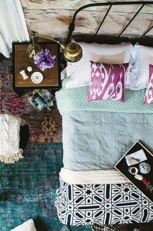 Chestha Idee Schlafzimmer Bettwäsche - 50 schlafzimmer ideen im boho stil