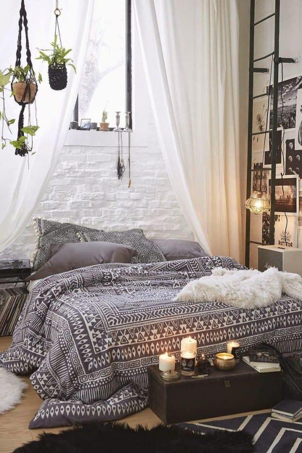 Awesome Bohemian Style Schlafzimmer Weiss Ideas - House Design - 50 schlafzimmer ideen im boho stil