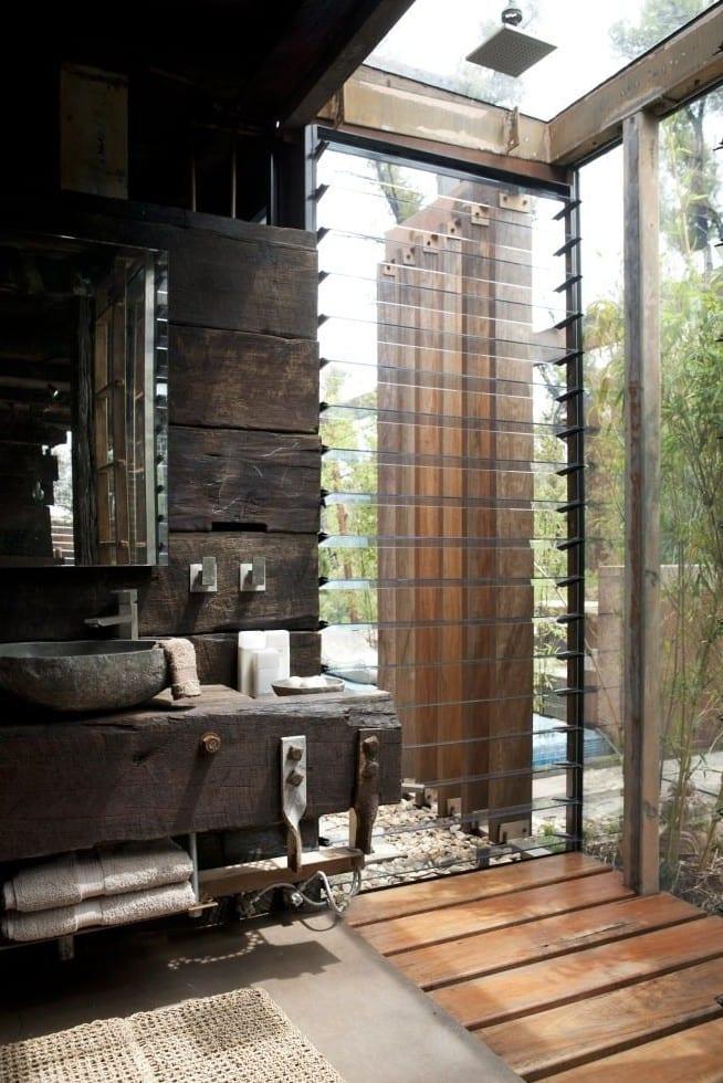 ... Moderne Badezimmer Im Vintage Style   FresHouse   Badezimmer Vintage ...
