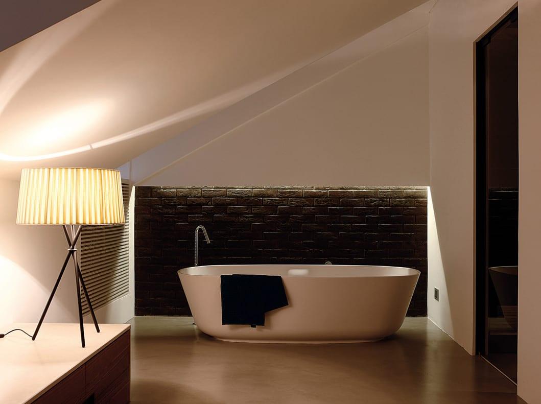 Wohnzimmer ziegelwand designwand designwand mit stein - Wohnzimmer ziegelwand ...