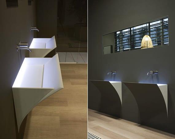 Bad Beleuchtung Modern - Wohndesign
