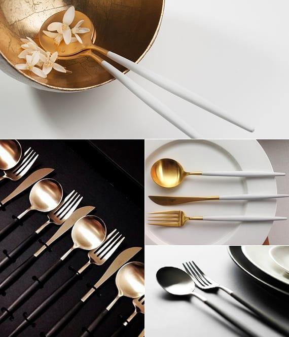 tisch-decken-mit-modernem-besteck-Goa-von-Cutipol - fresHouse - tisch decken mit modernem besteck