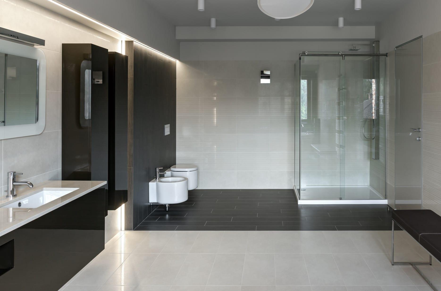 3d Foto Fußboden ~ Badezimmer fußboden d nasser fußboden im badezimmer