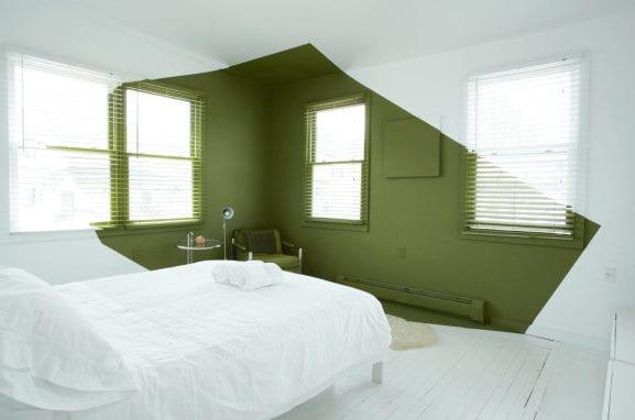 12 Ideen für Schlafzimmer Farben und originelles Schlafzimmer - schlafzimmer ideen in grun