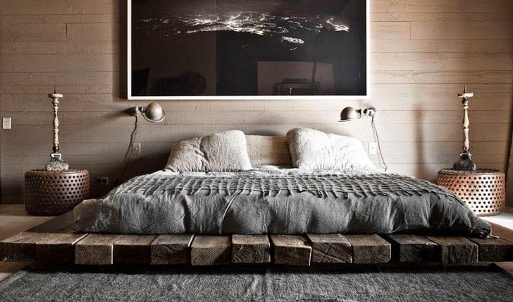 Bett-selber-bauen-für-ein-individuelles-Schlafzimmer-Design_diy - ideen frs schlafzimmer