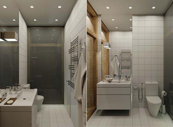 Kleines Bad Modern Gestalten Best Groartig Kleines Modern - weies badezimmer modern gestalten