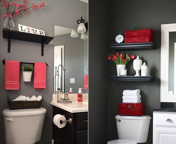 Badezimmer Badezimmer Grau Rot Badezimmer Grau At Badezimmer #100    Badezimmer Organisieren