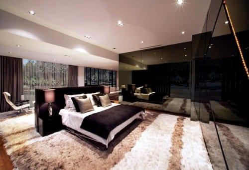 ideen zur schlafzimmer gestaltung - neuer platz fürs bett ...