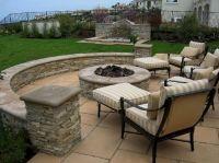 Backyard Stone Patio Design Ideas (Backyard Stone Patio ...