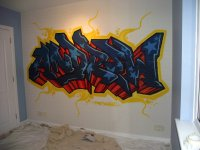 Kids graffiti bedrooms | FRESH PAINT