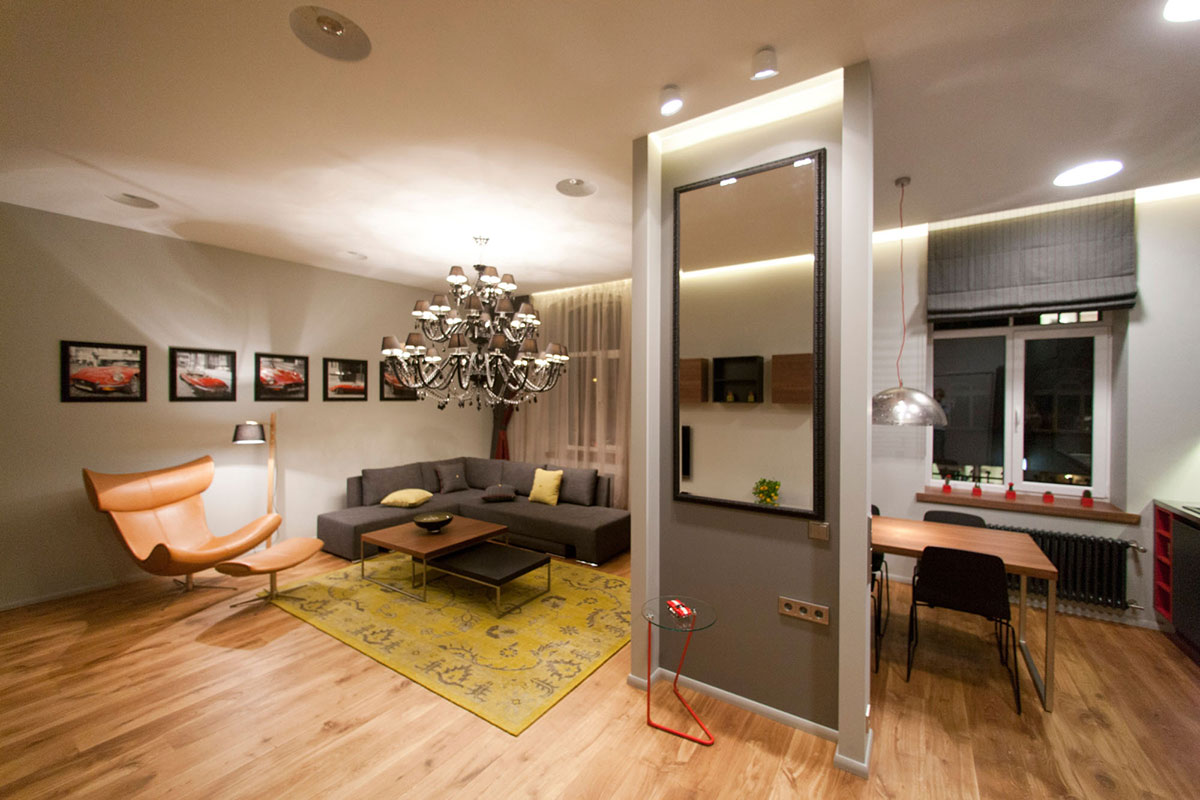 Design Studio Apartment Studio Apartment In Riga Latvia By Eric Carlson