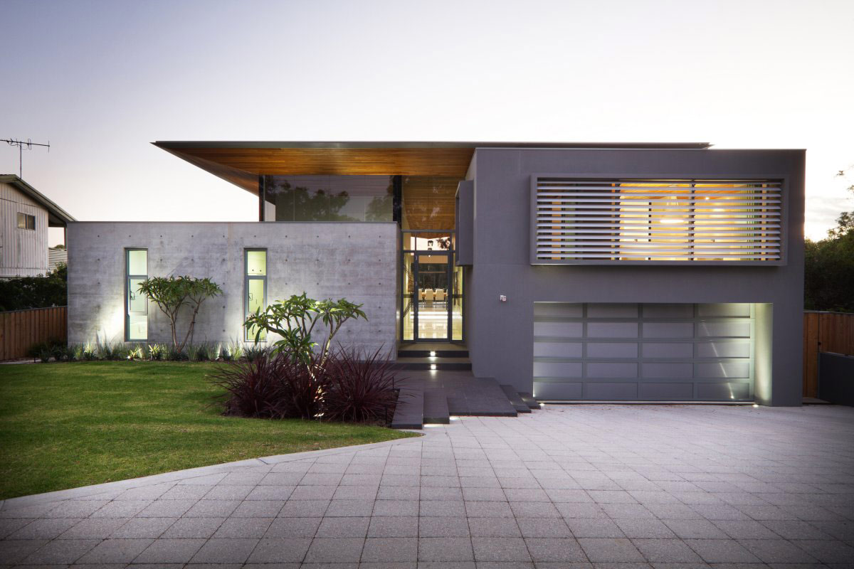 Modern Concrete House Concrete House Architecture Magazine