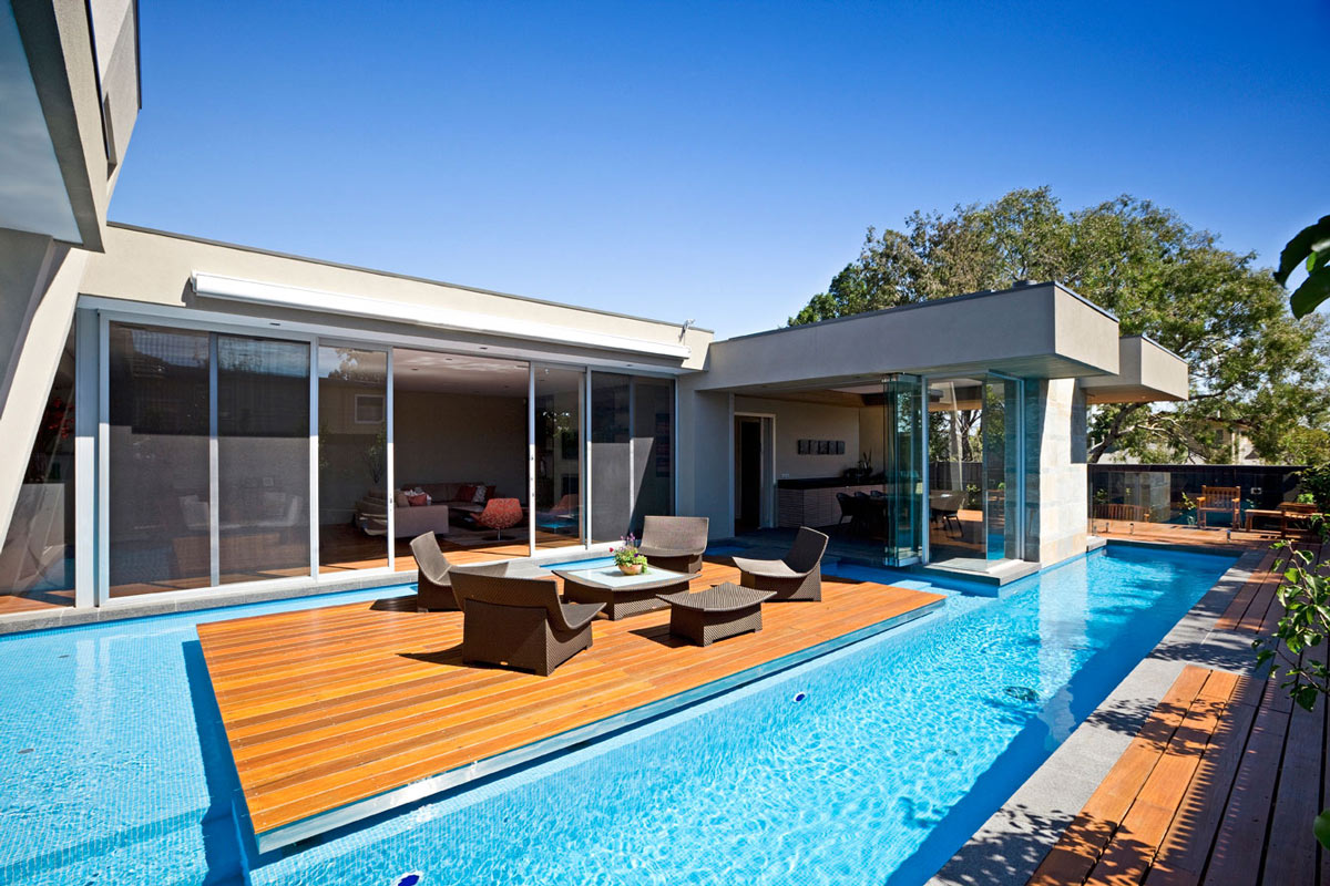 Pool Kaufen Sale Island Deck Swimming Pool Home In Canterbury Australia