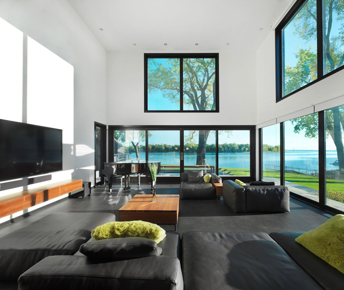 Container Haus New York Black Leather Sofas Living Room Renovation And Addition