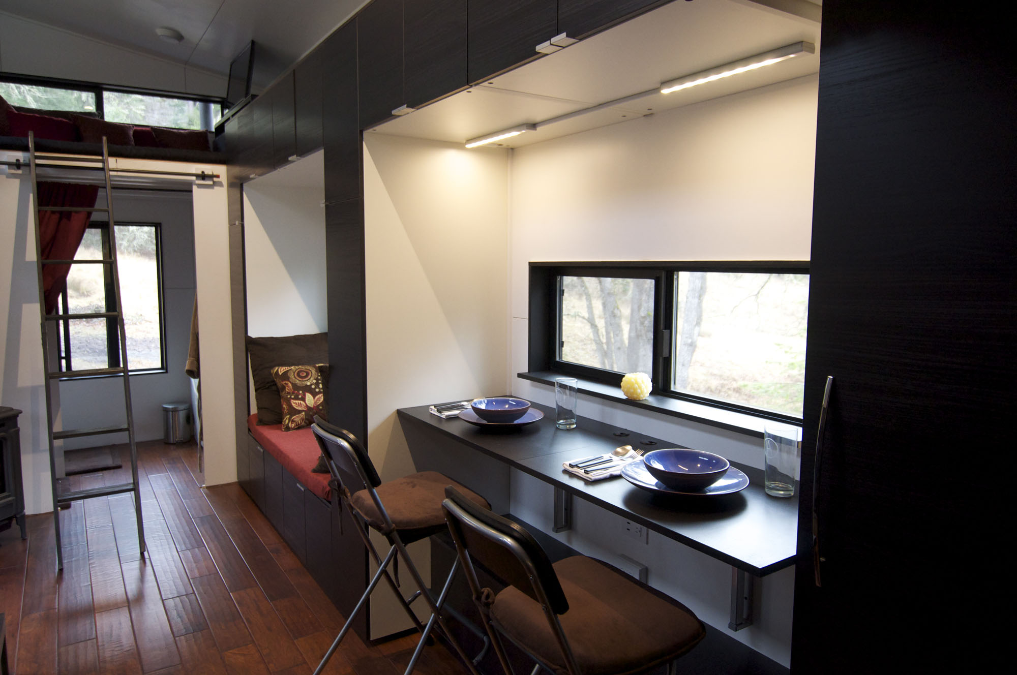 Furniture Ladder Malta Tiny House On Wheels: Home By Andrew And Gabriella Morrison