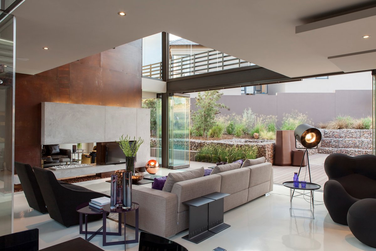 Afrika Style Wohnzimmer Luxurious Home Designed For Outdoor Living House Duk In