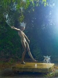 Artistic Water Fountain Sculptures by Malgorzata Chodakowska