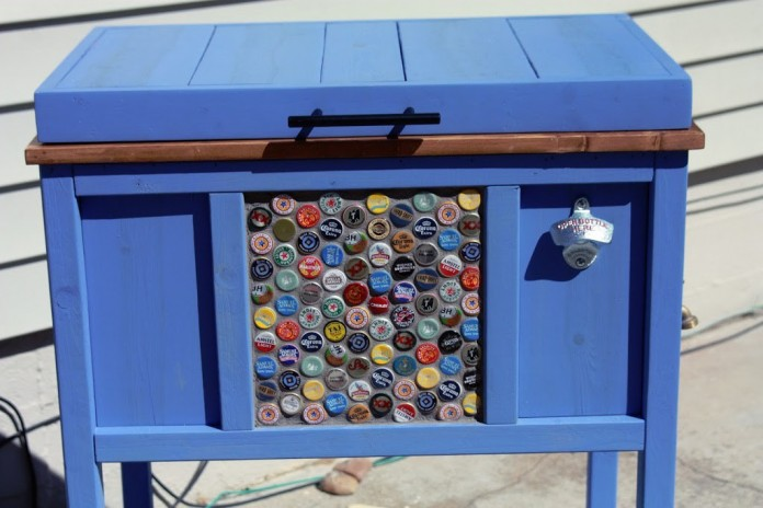 Outdoor Ice Chest Beverage Cooler Ideas For Your Patio Or Deck