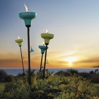 Tiki Torch Lights and Outdoor Oil Lamps: Garden Party Gear