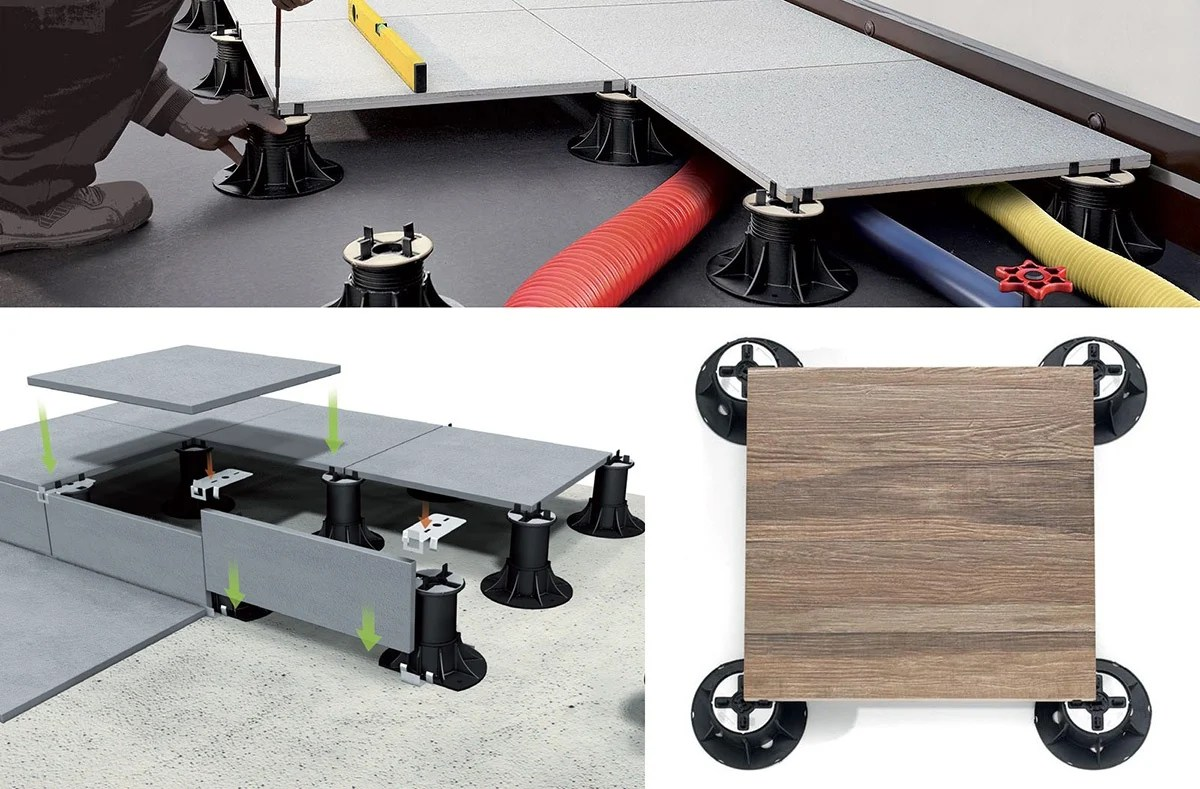 Bunnings Eco Deck Modular Raised Flooring Yamsixteen