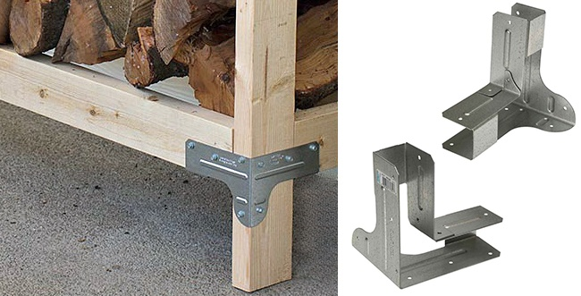 8 Quick Easy To Build Firewood Rack Bracket Kit Reviews