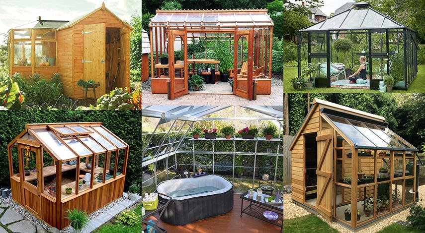 60 Garden Room Ideas Diy Kits For She Cave Sheds