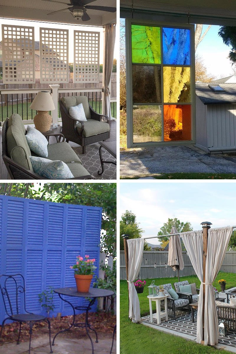 Privacy Screens Outdoor 20 Outdoor Patio Privacy Screen Ideas Diy Tutorials