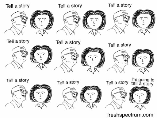 Godin tell a story