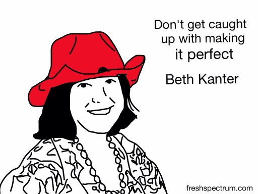 Beth Kanter Advice