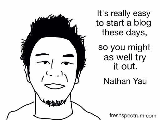 Nathan Yau Advice