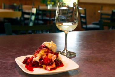 recipe: strawberry shortcake with fresh tracks farm frontenac gris